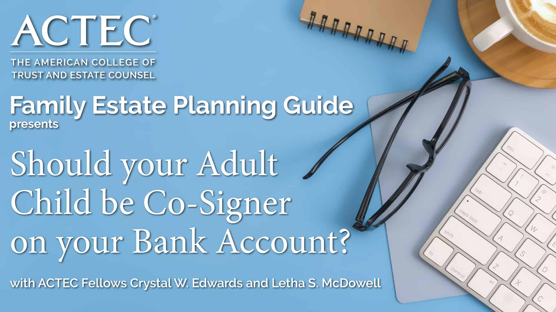 Should your Adult Child be a Co-Signer on your Bank Account?
