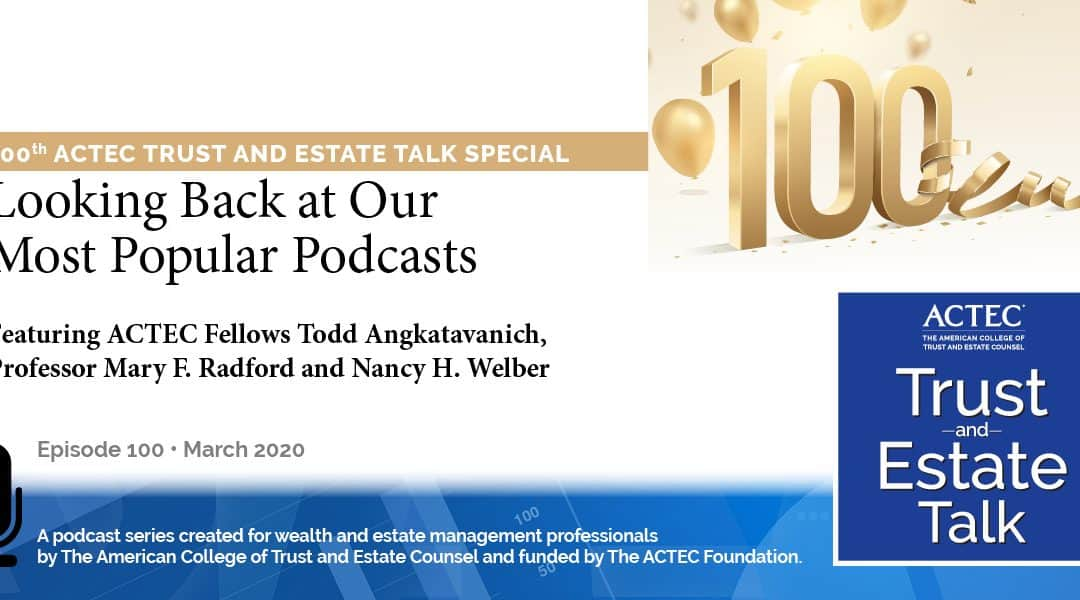 Looking Back at Our Most Popular Podcasts   100th Special