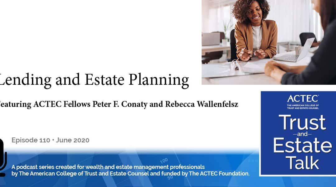 Lending and Estate Planning