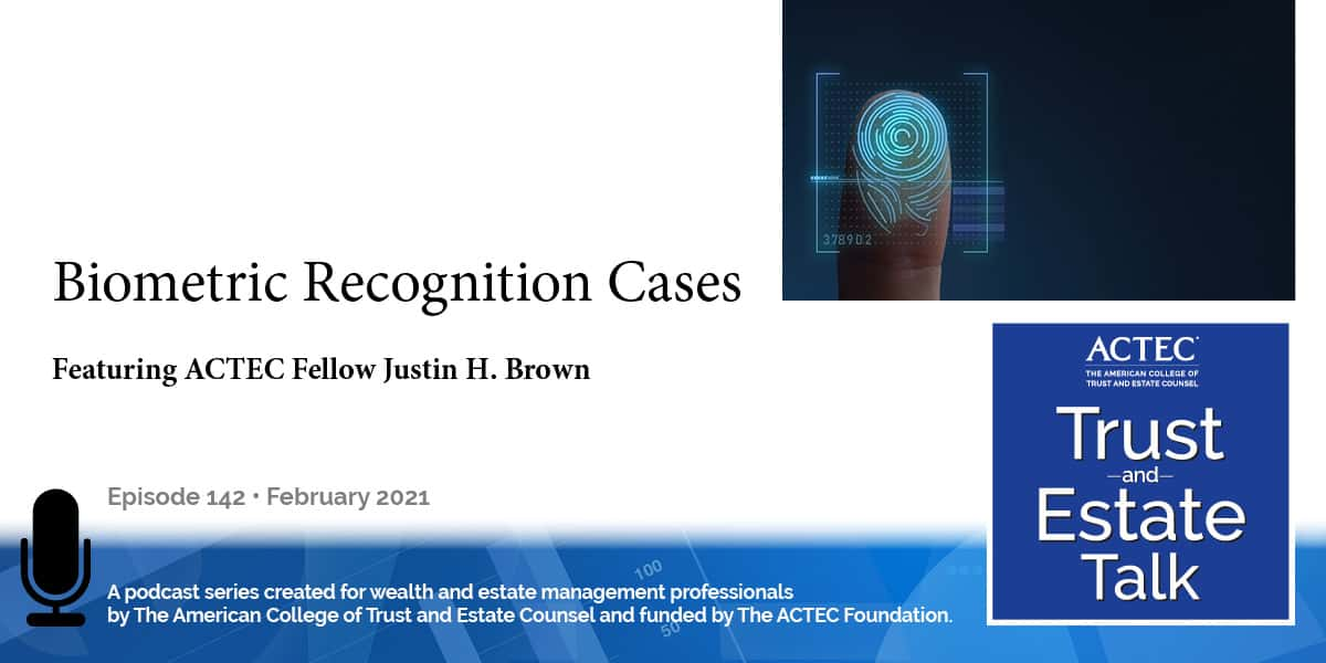 Biometric Recognition Cases