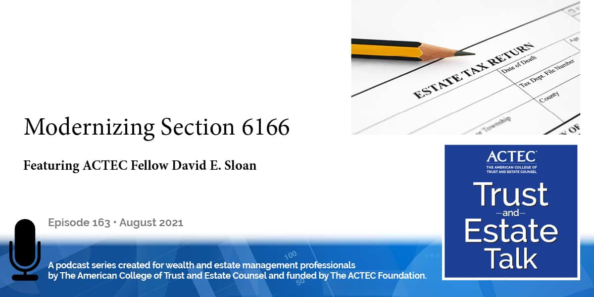 Modernizing Section 6166