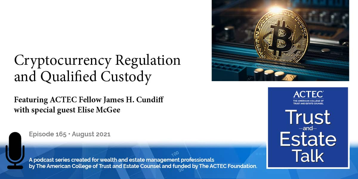Cryptocurrency Regulation and Qualified Custody