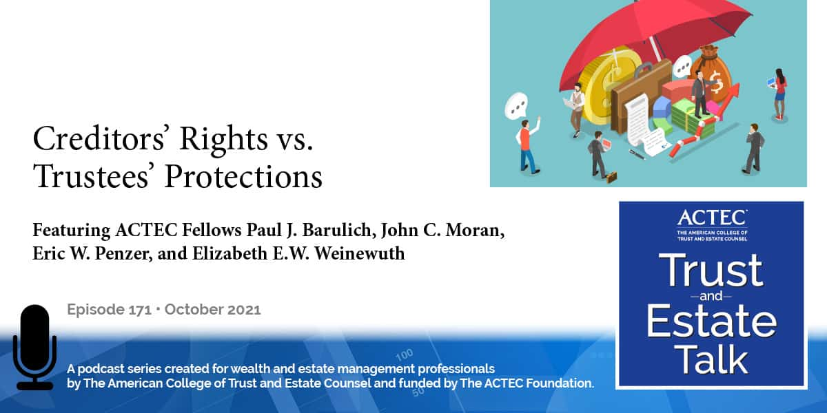 Creditors' Rights vs. Trustees' Protections