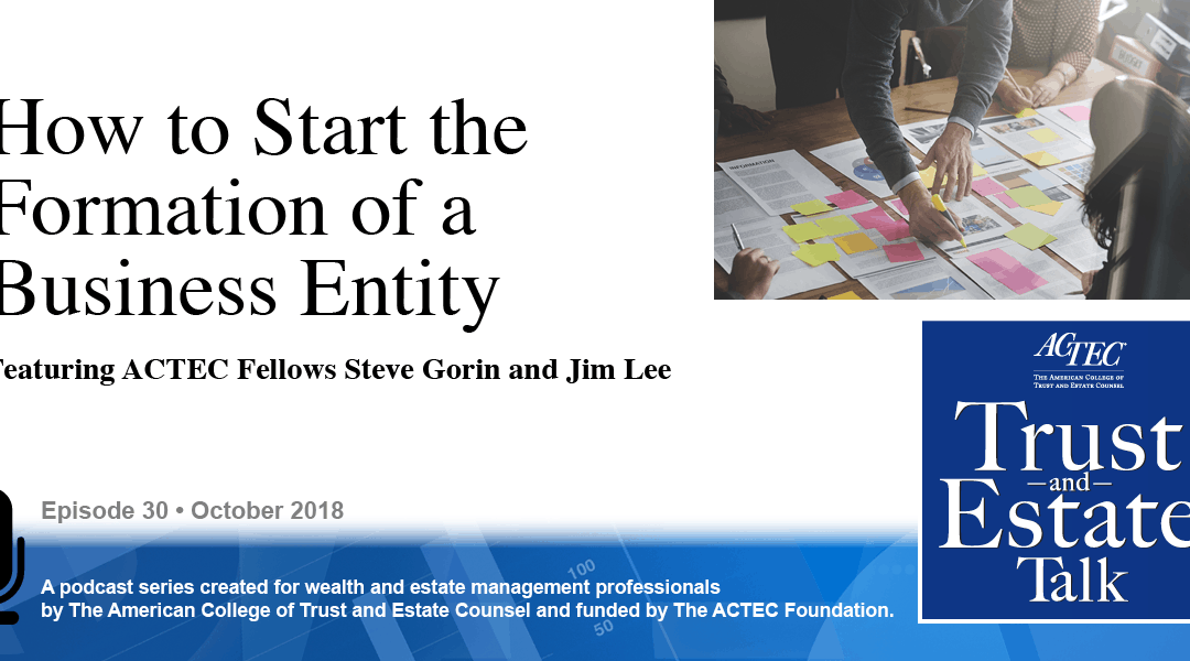 How to Start the Formation of a Business Entity