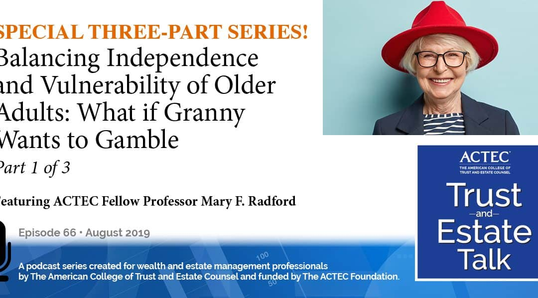 Balancing Independence and Vulnerability of Older Adults | Part 1