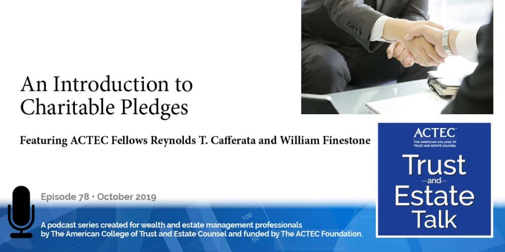 An Introduction to Individual Charitable Pledges