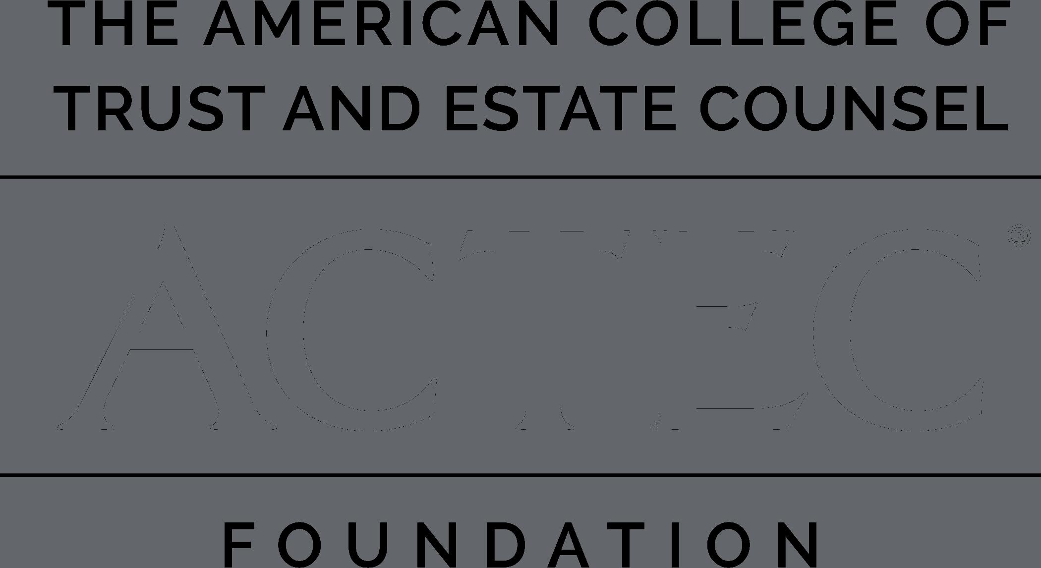 The ACTEC Foundation