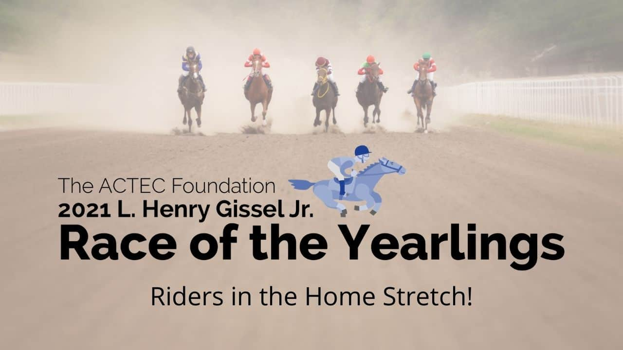 L. Henry Gissel, Jr. Race of the Yearlings – Home Stretch!
