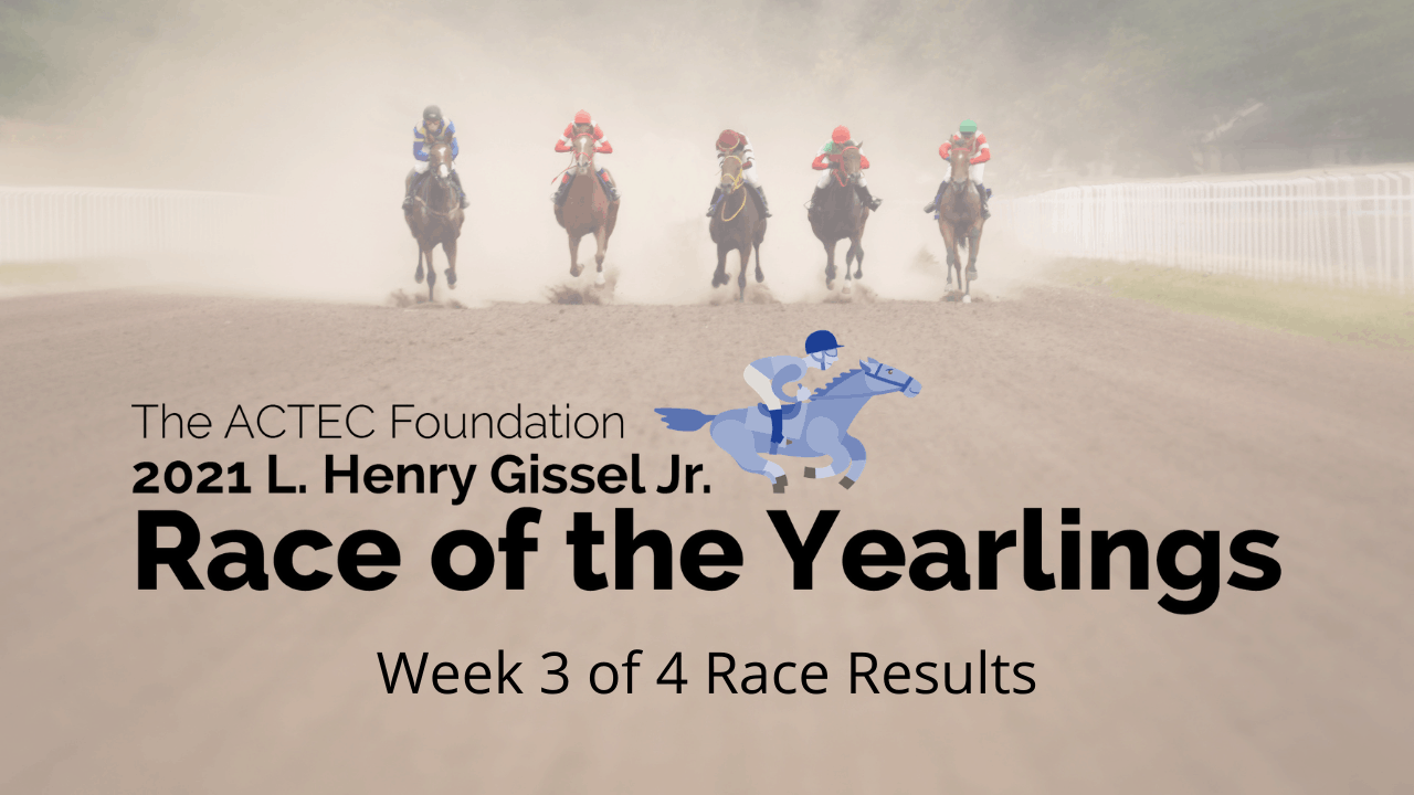 L. Henry Gissel, Jr. Race of the Yearlings – April 21 Derby Update