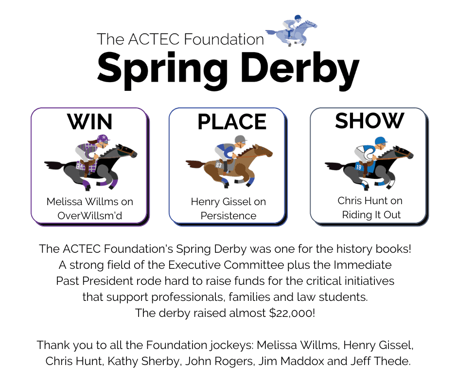 A Successful Run for the Spring Derby