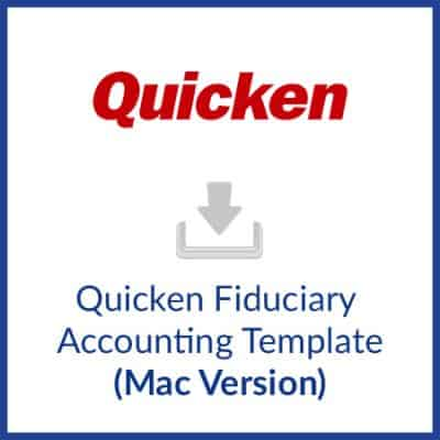 Fiduciary Accounting Template
